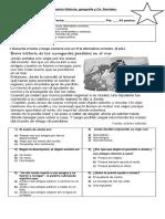 Evaluación Océanos, Continentes, Límites y Mapas.