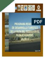 01 Ruta Del Tequila Presentacion Ejecutiva