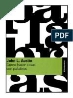 AUSTIN, John L. Cómo hacer cosas con palabras