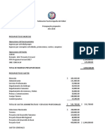5. Presupuesto Fpf - 2018