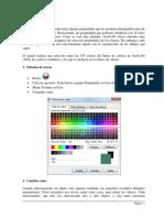 Colores de Autocad