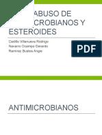 Uso y Abuso de Esteroides y Antimicrobianos