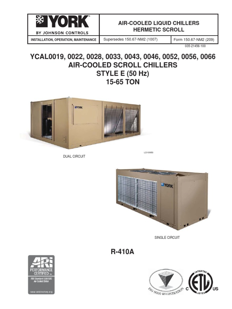 York Ycal0043 Wiring Diagrams Free Download Chiller Control Diagram Heat Exchanger Hvac