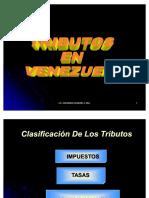52037437 Clasificacion de Los Tributos en Venezuela