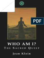Cine sunt eu - Cautarea sacra - Jean Klein .pdf