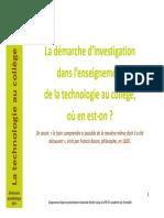 3 - Demarche Investigation