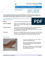 Tuft Fracture Info