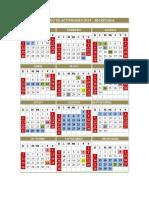 Calendario Ula 2014