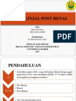 Gagal Ginjal Post Renal