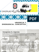 Urgencias y Emergencias - Desastres