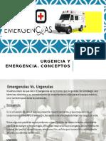 Urgencias y Emergencias - Desastres