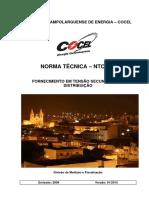 Ntc 001 Fornecimento Em Tensão Secundária Ceron Rondonia