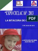 Bitacora Julio de 2013 Laguna