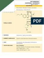 Anti-amebianos (albendazol + secnidazol)