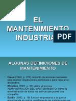 1.1 y 3.1el Mantenimiento Industrial