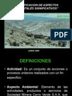 CERRO VERDE Presentación Aspectos Ambientales (AA)