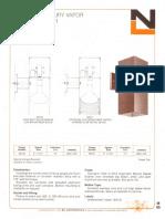 NL Corporation M3720-M3721-M3730-M3731 100 & 175w MV R40 Square Spec Sheet 10-75