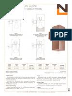 NL Corporation M3820-M3821-M3822-M4010-M3830-M3831-M3832 100 & 175w MV R40 Square spec sheet 10-75