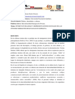 Interculturalidad y Representaciones Sociales de Las2011adpo