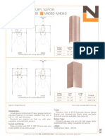 NL Corporation M3960-M3940-M4060-M4040 250w MV Cylinder & Square Spec Sheet 10-75
