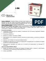 Manual de Instrucciones DMTME 96 DMTME I 485 96