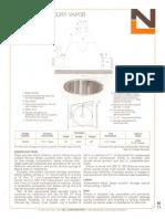 NL Corporation M3240 400w MV Alzak Reflector Downlight Spec Sheet 10-75