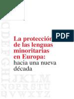 Lenguas Minoritarias en EUROPA