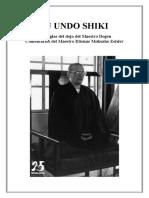 Ju Undo Shiki - Reglas del Dojo de Dogen - Comentario de Etienne Mokusho Zeisler