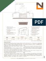 NL Corporation M3311 175w MV R40 Square Baffle Downlight Spec Sheet 10-75