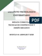 Modulo 03 - Arboles y Ejes - 2015
