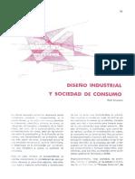 Diseño Industrial y Sociedad de Consumo - Raúl Chávarri