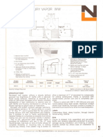 NL Corporation M3312 175w MV R40 Square Baffle Wall Wash Downlight Spec Sheet 10-75