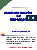 2. Conceptos de Administracion y Organizacion de Empresas