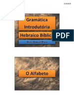 Hebraico 1 - C - PK1 - O Alfabeto - p.17-22