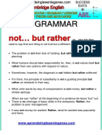 Not...but Rather...- CPE Grammar