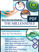 The Millennials -They Are Our Students.ppt