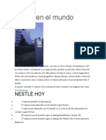 Nestlé en El Mundo