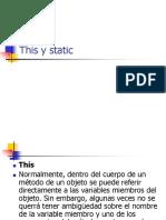 This y Static Conversion de Tipos