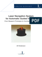 Laser Navigation System for Automated Guided Vehicles