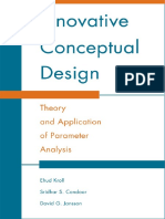 Innovative Conceptual Design - Theory and Application of Parameter Analysis
