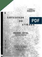 Lecciones de Aymara 1969