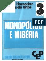 Cadernos de Formação Popular 3 - Monopólios e Miséria