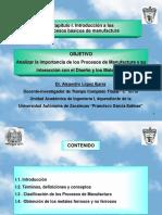 Introducción a Los Procesos de Manufactura-CIATEQ