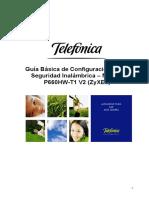 Manual Seguridad Wi Fi P660HW T1 V2