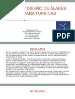 Estudio y Diseño de Álabes Óptimos Para Turbinas