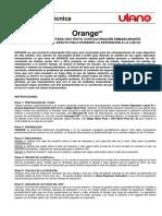 TDS Orange Sp