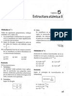 Química 5. Resolución Estructura Atómica II