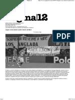 Llegan voces desde el patio trasero de Macri (Por Gustavo Veiga)