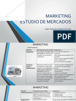 MARKETING Estudio Mercados