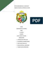 Informe La Lupuna - Tecnología de la Madera